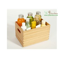 Bamboo Wooden Storage Bins