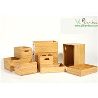 Bamboo Storage Baskets Set