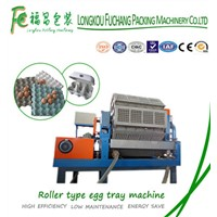 Fully Automatic Recycling Paper Egg Trays Machine with High Output 2000~6000pcs/h Product Line