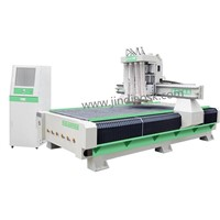 4 Tools Pneumatic Change CNC Router