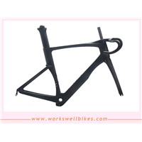 Carbon AERO Road Racing Frameset DI2 System Compatible Carbon Road Bike Frame