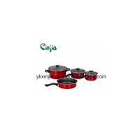 Carbon Steel Non-Stick Fry Pan Milk Pot Cassreole
