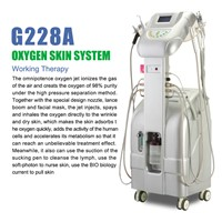 Facial Care Oxygen Injection Slimming Beauty Machine with BIO Wrinkle Removal Bipolar Plate for Body Skin Care