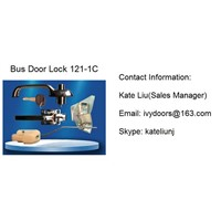 High Quality Folding Bus Door Lock Assembly 121-1C