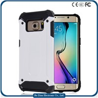 Mobile Phone Case for Samsung S6 Edge, Soft TPU & Hard PC Case for Mobile Phone Case