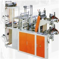 Computer Controll Vest Rolling Bag Making Machine(Double Layer)
