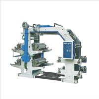 4 Color Fleoxgraphic Printing Machine