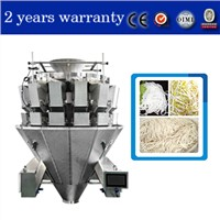 IP65 Cabinet Design for Noodle Weigher with Dimple Plates for Noodles Bean Sprout