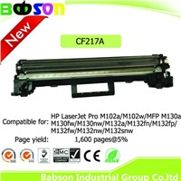 New Compatible Black Toner CF217A for HP LaserJet Pro 102/130/132 Series Printers