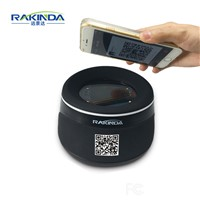 RD4100 High Quality USB or RS232 Interface Desktop Barcode Reader Qr Code Scanner for Mobile Phone Payment