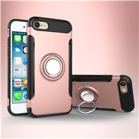 2 in 1 Case for iPhone 7, Shockproof TPU PC Case Cover for iPhone 7