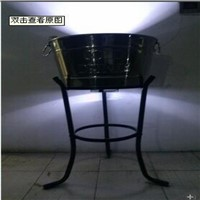 Iron Sheet LED Ice Bucket