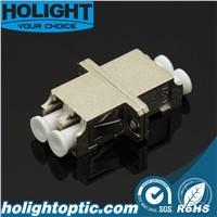 Optical Fiber Adaptor LC Duplex Metal Type