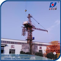 Mini D2420 Luffing Tower Cranes for Building Construction