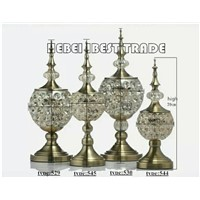 Glass Table Ornaments for European Style for Home Decor