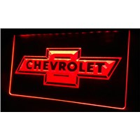 LS064 CHEVROLET Neon Light Sign