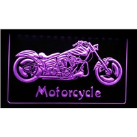 LS151 Motorcycle Bike Sales Services Neon Light Sign