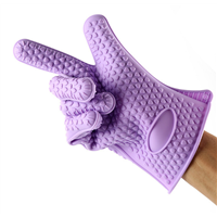 Silicone Heat-Resistant 5-Fingered Oven Glove