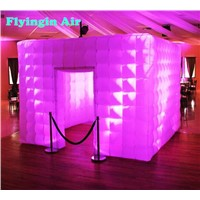 4m LED Inflatable Cube Photo Booth for Sale