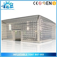 Blue Springs Inflatables, Transparent PVC Inflatable Cube Tent
