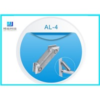 Double Side 45 Degree Aluminum Tubing Joint Diagonal Brace Pipe Connector AL-4