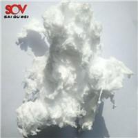 Factory Supply Snow White Superfine Inorganic Fibers Spraying Glass Wool