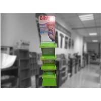 2017 Hot Sales Custom Design Cheaper Cardboard Floor Display Rack for Lip Balm