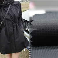 50D Check Waterproof Breathable FD Outdoor Pongee Coating Fabric PFS-051