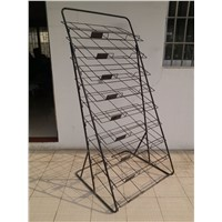 9 Tiers Metal Rack Doormat Display Rack Storage Rack