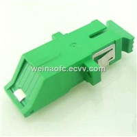 Fiber Optic Adapter SC/APC with Shutter Cover Simplex