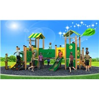 Good Quality Outdoor Playground Equipment Combination Slide WD-BC205