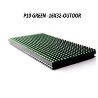 Green Outdoor P10 LED Display Module Digital Display Moving Sign Display Board LED Board