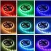 RGB Strip RGB LED Strip Light 60led/m Led Tape Light 4m 5m 10m SMD5050 DC12V Power Adapter 44keys Controller