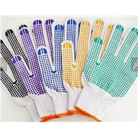 Safety Protective Safety Gloves Industrial Leather Hand Gloves