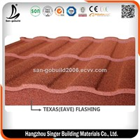 50 Year Warranty High Quality Color Stone Coated Steel Roofing Tile Makuti Grained Roofing Tile Stone Coated