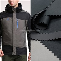 Twill Mechanical Stretch Outdoor Waterproof Breathable Composite Film Fabrics, Ski-Wear, Cotton-Padded Jacket PFS-047