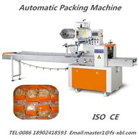 XBL-350A Dual Frequency Fast Speed Pillow Pouch Packing Machine