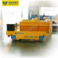 Factory Direct Sales Coil Handling Battery Powered Trolley on Wheels