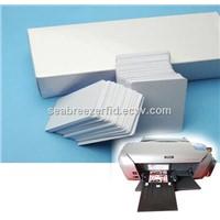 Inkjet Printer Direct Print PVC White Card, Printable Magnetic Strip Card, Printable RFID Chip Blank Card