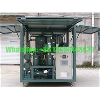 Double-Stage High Precision Transformer Oil Filtration/Purification Plant (ZYD50)