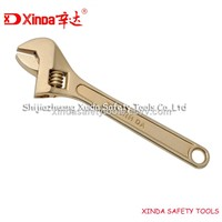 Non Sparking Adjustable Wrenches Safety Tools