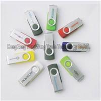 OEM, Logo Printed USB Flash Drive, Hot Selling USB Stick, USB Flash Swivel 1/2/4/8/16/32GB