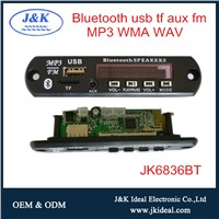 JK6836BT for Amplifier Speaker USB FM Bluetooth MP3 Player Module