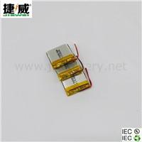 Digital Camera Battery Li Polymer Battery JW-PL423030 360mAh 3.7V