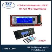 JK1530 Speaker Amplifier USB Decoder Recorder Bluetooth MP3 Module Circuit Board