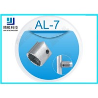 Hexagon Pipe Joint Outer Tubing Connector for Diameter 28mm Aluminum Pipe AL-7
