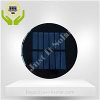 3V 100mA Diameter 80mm Epoxy Resin Round Solar Cell