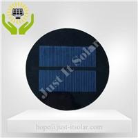 4V 125mA Diameter 100mm Epoxy Round Solar Cell