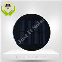 6V 100mA Diameter 100mm Epoxy Resin Round Solar Panel
