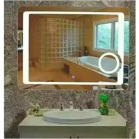 UL ETL CE Wall Mounted Hotel Bathroom LED Mirror